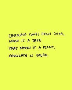 So i do like salad!