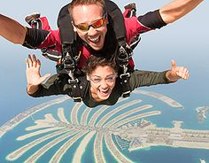 Skydiving. Seriously