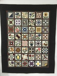 Mrs. Lincoln's Sampler Pattern by Lori Smith Hand Quilted