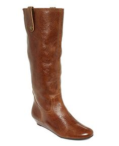 $169 Steve Madden Inspirre Tall Boots in Cognac.