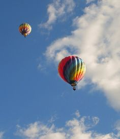 Battle Creek, Michigan Where my family is from. I'll never forget the love of hot air balloons.
