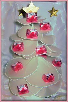 Rübe-Kreativ: Der Mon Chéri-Weihnachtsbaum