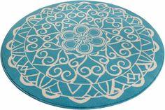 Teppich, rund, Zala Living, »Mandala 1«, gewebt