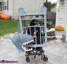 Shark Attack Costume - Halloween Costume Contest via @costumeworks