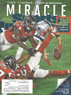 Patriots Hawks Super Bowl Football Sports Illustrated Magazine February 13 2017  #doesnotapply