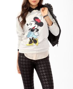 Classic Minnie Pullover | FOREVER21 - 2019570915