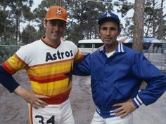 """Pitching legends Nolan Ryan & Sandy Koufax A great moment in baseball history! Best Baseball Player, Dodgers Baseball, Better Baseball, Ny Yankees, Sports Baseball, Baseball Jerseys, Baseball League, Baseball Stuff, Football"