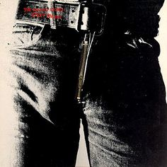 View this item and discover similar for sale at - The Rolling Stones Sticky Fingers Vinyl Album featuring Original Cover Art by Andy Warhol Excellent condition. Zipper in full working order with cover The Rolling Stones, Rolling Stones Album Covers, Rolling Stones Albums, Pop Rock, Rock And Roll, Robert Crumb, King Crimson, Janis Joplin, Mick Jagger
