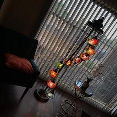 Turkish Lamp Floor Lamp Ceiling Lamps by DervishHandicrafts Turkish Lanterns, Turkish Lights, Turkish Lamps, Lantern Ceiling Lights, Floor Lanterns, Ceiling Lamps, Floor Lamp Shades, Chandelier Shades, Chandelier Lighting