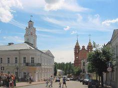 Born in Vitebsk, Belarus