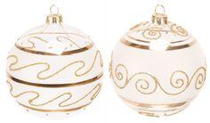 boule de noël décorée en verre soufflé #bouledenoel #decorationsapin #sapindenoel #sapin