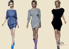 ropa en pasarela con ropa de reloj de arena - Buscar con Google