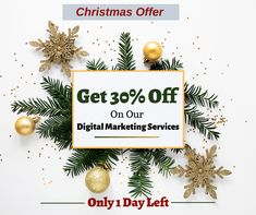 Woosper is the best digital marketing services that can boost your business and increase your online presence. Moreover, get 30% off on our services at Christmas. Hurry up!! Only 1 day is left.   #woosper #digitalmarketing #christmasoffer #merrychristmas2019 #contentmarketing #onlinemarketing #internetmarketing #offers #socialmedia #emailmarketing #onlinereputationmanagement #businessmarketing #branding #seo #contentwriter