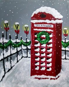 I am going to paint London Holiday at Pinot's Palette - Ellicott City to discover my inner artist!