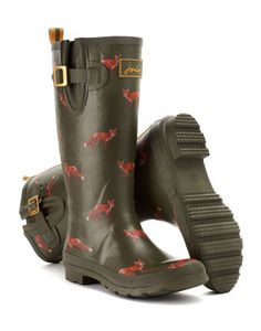 WELLYPRINT Womens Printed Welly #joules #christmas #wishlist