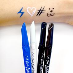 NOW IN STOCK --->LA girl Line Art Matte EyelinerThese are made for summer for sure... It lasted all day long on my oily skin...   Shop at - http://www.ikatehouse.com/la-girl-line-art-matte-eyeliner.html