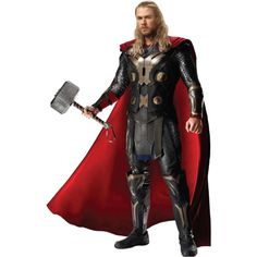 Thor-TDWpromo.png ❤ liked on Polyvore featuring dolls