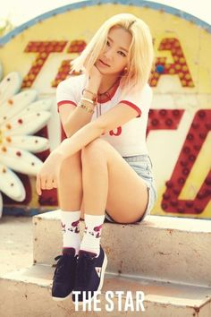 """Hyoyeon Lets Slip a Few Personal Beauty Tips During Interview with """"The Star"""" 