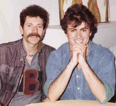 George Michael with Brian Richy, 1983