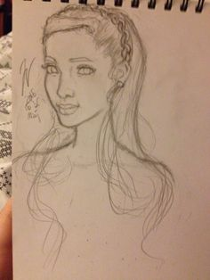 This sketch is made by @Cotton_Candy__Girl