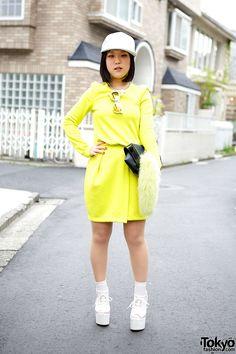 Shoes designer Mayumi (she's on Tumblr) w/ H&M,... | Tokyo Fashion