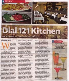 """Food Review at 121 Kitchen : Bar by  Life 365 correspondent """"Anagha Natu""""  #Foodies #Restaurant #Pune"""