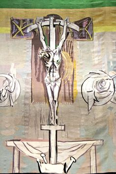Graham Sutherland tapestry - Coventry Cathedral