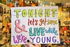 live while were young - One Direction