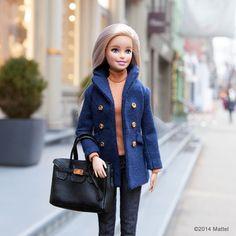 Strolling around Soho, temptation on every corner! #barbie #barbiestyle | via @BarbieStyle