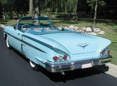 1958 Chevrolet Impala Sport Convertible