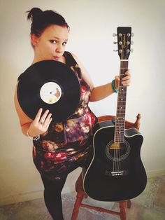 Guitars and records, my favourite things.