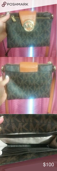 Authentic  MK Purse Only carried for a week  To small for me. MKM Designs Bags Crossbody Bags