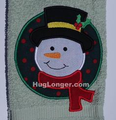 Looking for your next project? You're going to love Applique Snowman embroidery file HL1036 by designer Hug Longer.