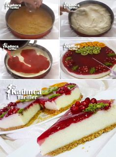Narli Liar Cheesecake Recipe, How To - Kuchen Rezepte Delicious Cake Recipes, Best Dessert Recipes, Fun Desserts, Delicious Food, Cheesecake Deserts, Lemon Cheesecake Recipes, Chocolate Mousse Pie, Chocolate Chia Pudding, Delicious Chocolate