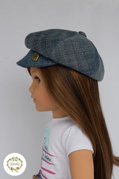 American girl doll clothes  Hat  by PurpleRoseNY on Etsy