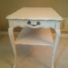French Provincial Furniture, Nightstand, Table, Home Decor, Homemade Home Decor, Bedside Desk, Mesas, Desk, Decoration Home