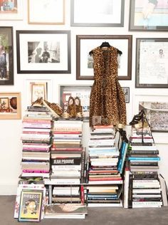 The best of all worlds; book, art, fashion...