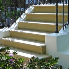 Photo gallery of yorkstone flags, garden statues and ornaments, stone walling, rockeries, house signs and stone fireplaces Paving Stones, Stepping Stones, Front Steps Stone, Step Treads, Portland Stone, Step Edging, Front Stoop, Porch Steps, Garden Steps