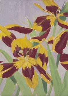7.5 Alex Katz Tulips 1969