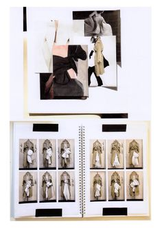 Fashion Sketchbook - fashion design draping research & development; graduate fashion portfolio // Rachel Raheja