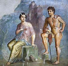 Pompeii, House of Meleager - 'Io and Argo' AD79eruption