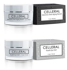 Celleral AntiAging Combo Celleral AntiAging Serum  Celleral Eye  Argireline Matrixyl Haloxyl Hyaluronic Acid Powerful Collagen Booster BESTSELLING WRINKLE TREATMENT  EYE TREATMENT COMBO >>> Check this awesome product by going to the link at the image.