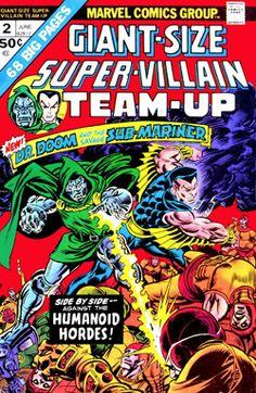 Doom & Subby by Roy Thomas and John Buscema? Make mine Marvel!