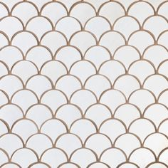Moroccan Fish Scales - Special Order; many colors; shower niche accent. Any other place for accent in bathroom?