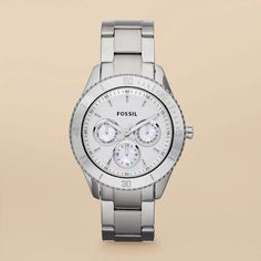 Montre pour femme : I like watches as much as I do shoes!  Its a Fossil whats not to love? Part of