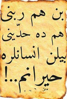 Ben hem haddini hem de Rabbini bilen insanlara hayranım...