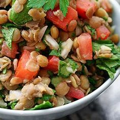 Meatless Monday: Lentil Salad