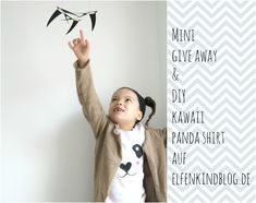 Give Away& Panda Shirt DIY