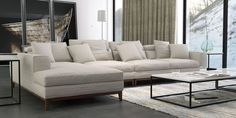 Sit back and relax in our OSLO 4 seater sofa!  (long chaise left)