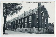 Carbondale, PA YMCA building, 1930s